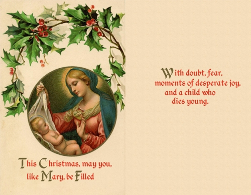 Filled with Doubt Christmas Card
