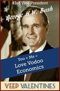 George HW Bush Veep Valentine