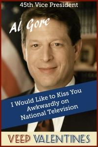 Al Gore Veep Valentine