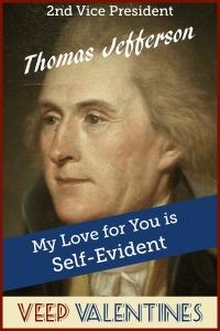 Thomas Jefferson Veep Valentine
