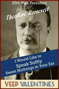 Theodore Roosevelt Veep Valentine
