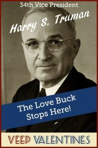 Harry Truman Veep Valentine