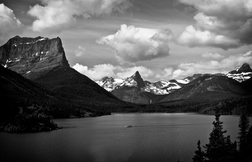 St. Mary Lake from Sun Point